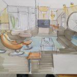 Planung einer Wohnung auf Wangerooge