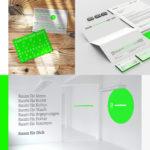 Branding / Corporate Design Raum auf Zeit, Oldenburg
