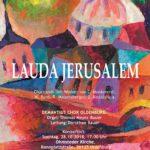"Rezension zum Konzert ""Lauda Jerusalem"""